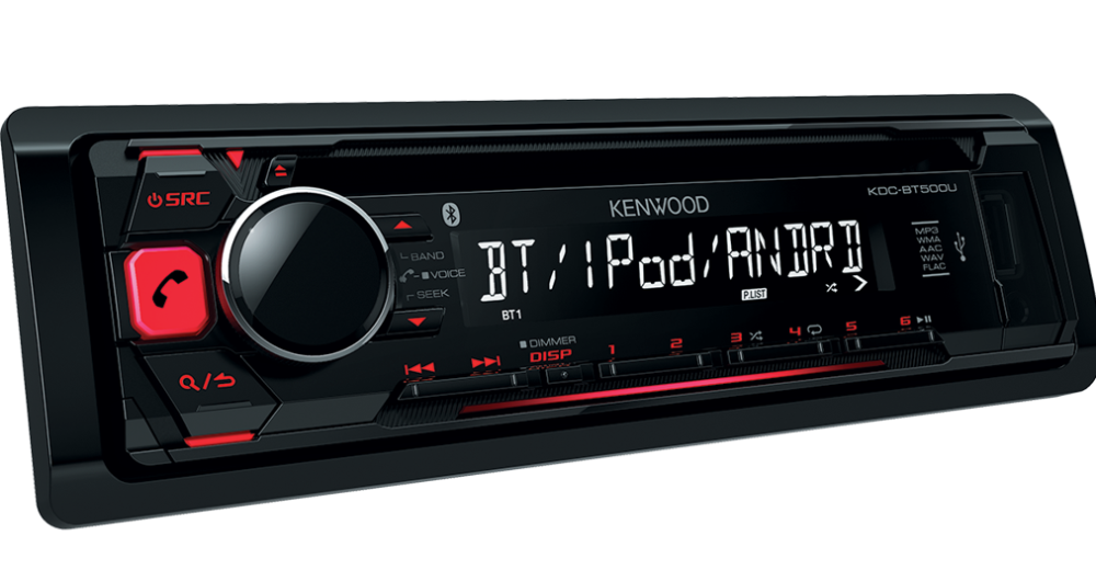 MOVITRON - KENWOOD KDC-BT500U