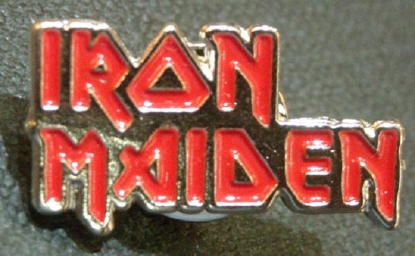 Nakasha - Pin Iron Maiden Logo