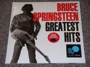 "Sony Music 2LP BRUCE SPRINGSTEEN ""GREATEST HITS"" VINYL RED TRASLUCENT"