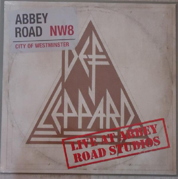 Nakasha - Sony Music 12'' DEF LEPPARD 'LIVE AT ABBEY ROAD STUDIOS'