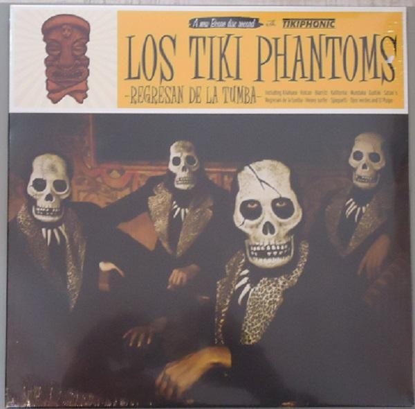 Nakasha - LP LOS TIKI PHANTOMS 'REGRESAN DE LA TUMBA'