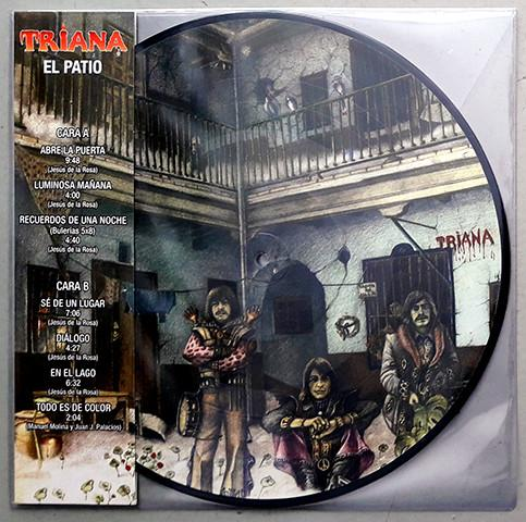 Nakasha - Warner Music PICTURE DISC LP TRIANA 'EL PATIO'