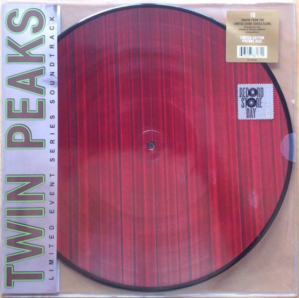 Nakasha - Rhino PICTURE DISC 2LP VARIOS 'TWIN PEAKS - LIMITED EVENT SERIES SOUNDTRACK'