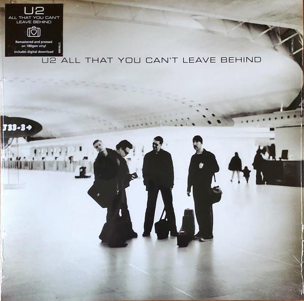 Nakasha - Universal Music LP U2 'ALL YOU CAN'T LEAVE BEHIND'