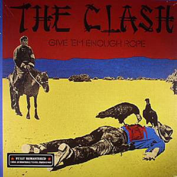 Nakasha - Sony Music LP THE CLASH 'Give 'Em Enough Rope'
