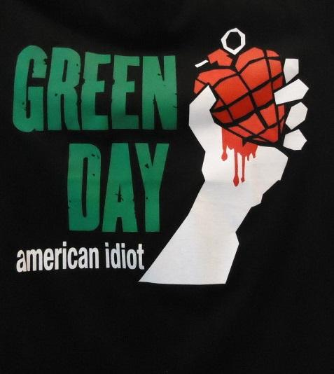 Nakasha - CAMISETA GREEN DAY ' American Idiot'