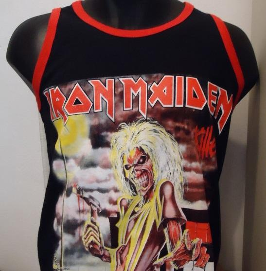 Nakasha - CAMISETA BASKET IRON MAIDEN