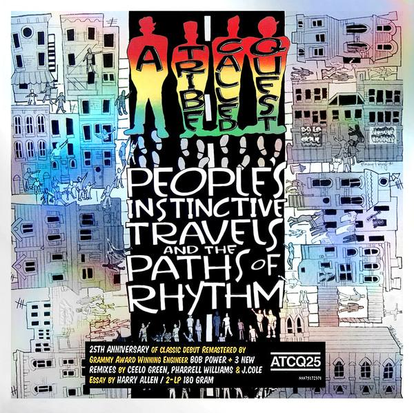 Nakasha - Sony Music LP A TRIBE CALLED QUEST People's Instinctive Travels And The Paths Of Rhythm  2LP