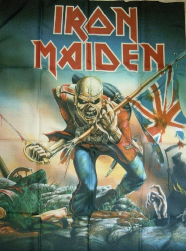 Nakasha - Bandera Iron Maiden Trooper