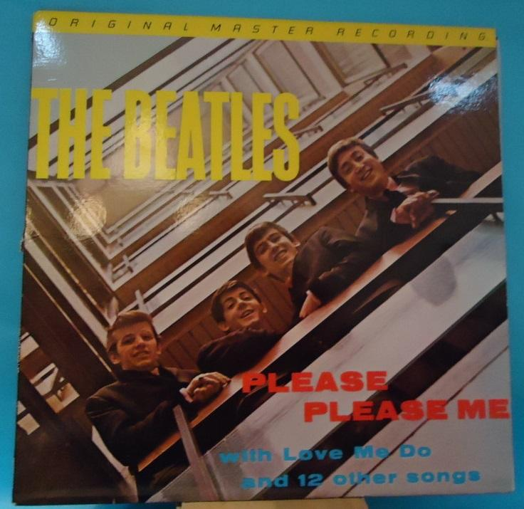 Nakasha - LP The Beatles ‎– Please Please Me Mobile Fidelity Sound Lab Vinyl NM- Cover VG++