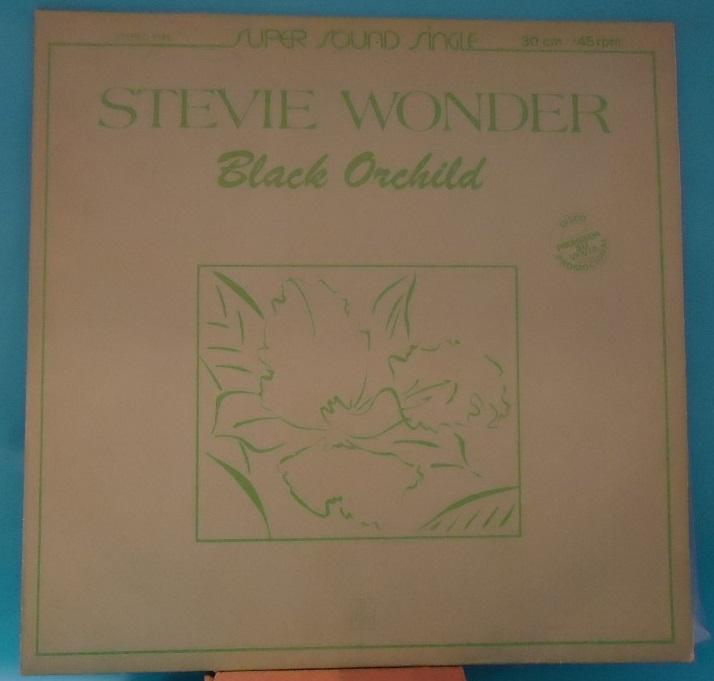 Nakasha - SINGLE 12'' Stevie Wonder ‎– Black Orchild / Race Babbling Vinyl EXC+ CLOSE TO NM Cover VG+
