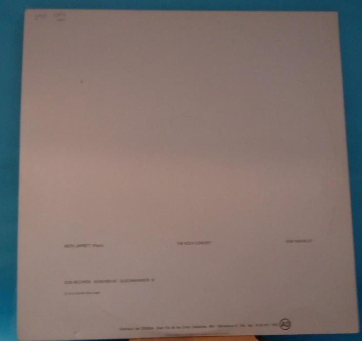 LP Keith Jarrett ‎– The Köln Concert 2LP Vinyl NM- Cover VG+