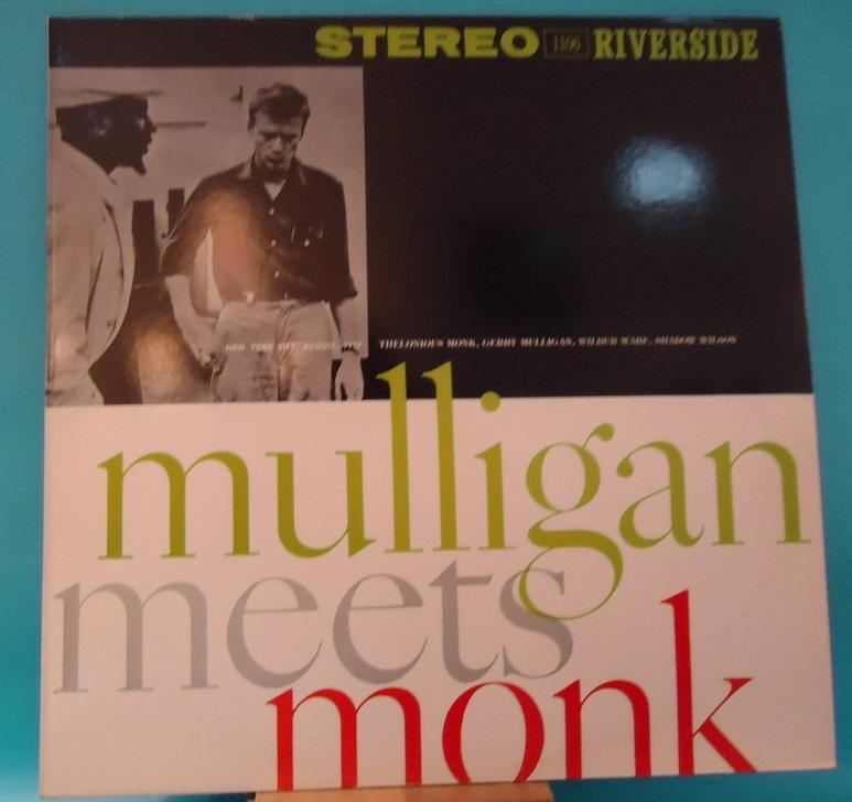 Nakasha - LP Thelonious Monk And Gerry Mulligan ‎– Mulligan Meets Monk Vinyl EXC+ Cover VG++