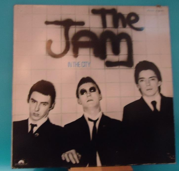 Nakasha - LP The Jam ‎– In The City Vinyl VG+ Cover VG