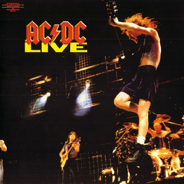 Nakasha - Sony Music LP AC/DC ‎– Live 2LP