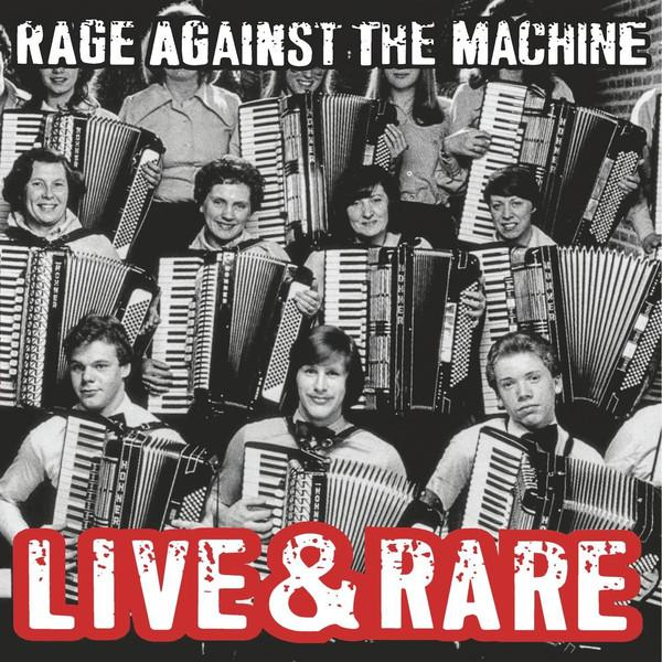Nakasha - LP Rage Against The Machine ‎– Live & Rare 2LP