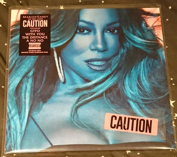 Nakasha - LP Mariah Carey ‎– Caution