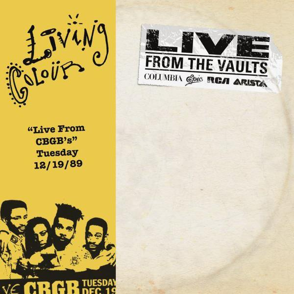 Nakasha - LP Living Colour ‎– Live From CBGB's Tuesday 12/19/89 2LP