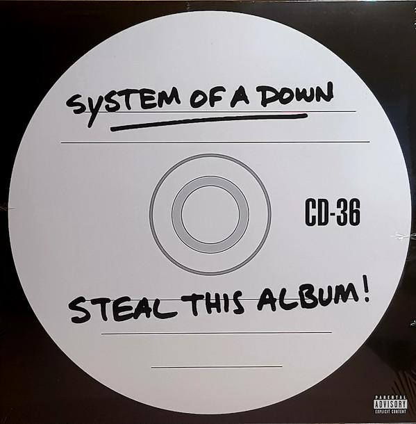 Nakasha - LP`System Of A Down – Steal This Album!  2LP