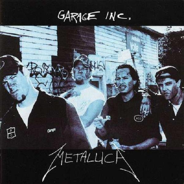 Nakasha - Universal Music LP Metallica 'Garage Inc' 3LP