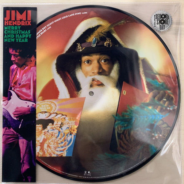 Nakasha - Sony Music PICTURE DISC Jimi Hendrix Merry Christmas and Happy New Year