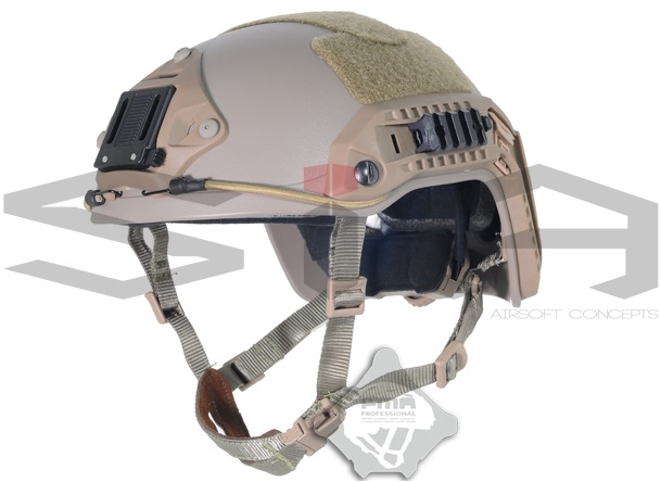 SIA Airsoft Concepts - FMA Casco Ops Core (Regulación), TAN
