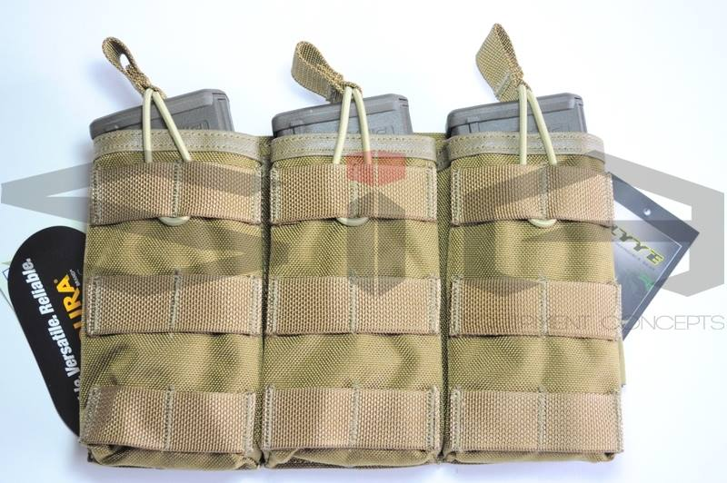 SIA Airsoft Concepts - FLYYE Pouch universal EV (Coyote Brown)