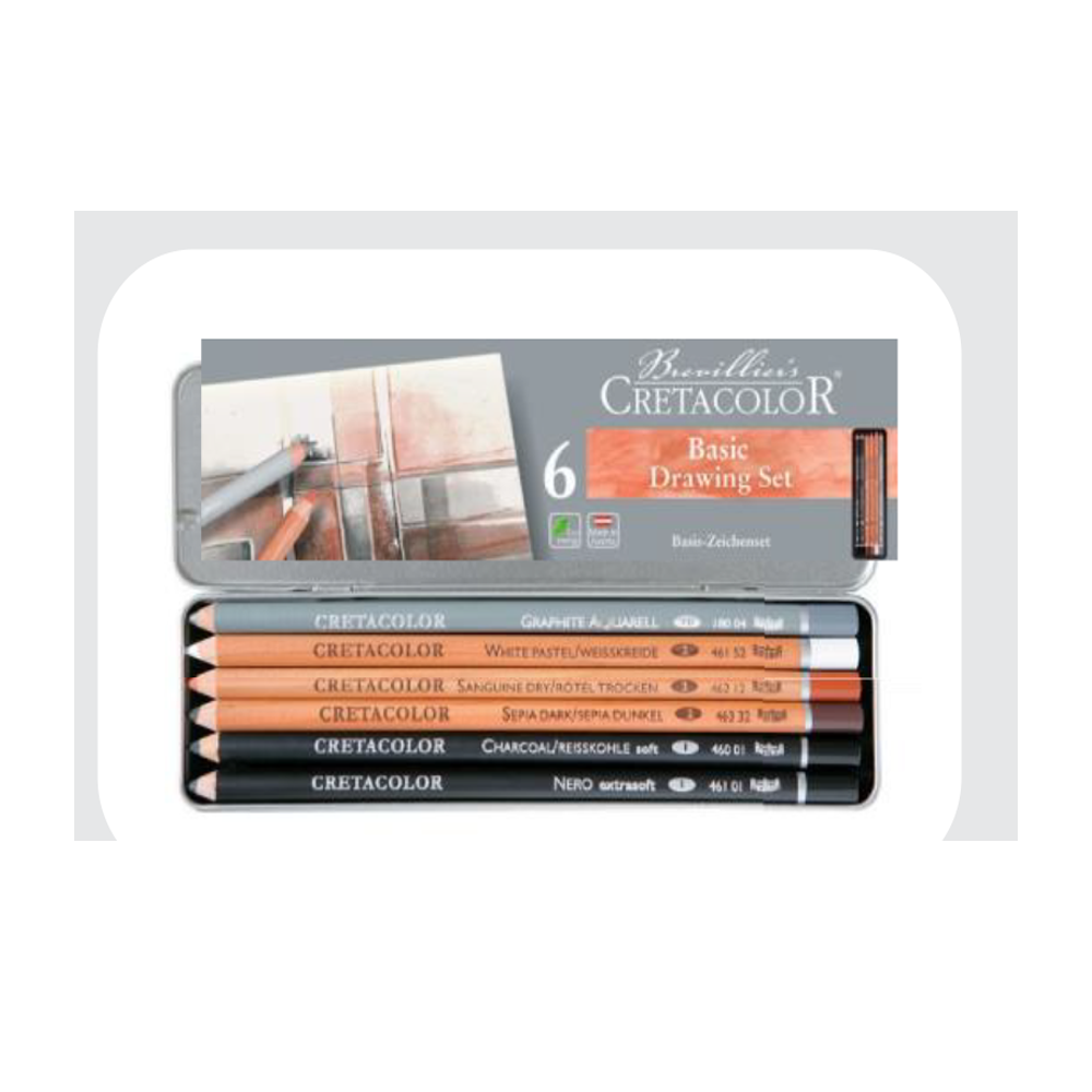 Take a Cake - Cretacolor Basic Pencil Set