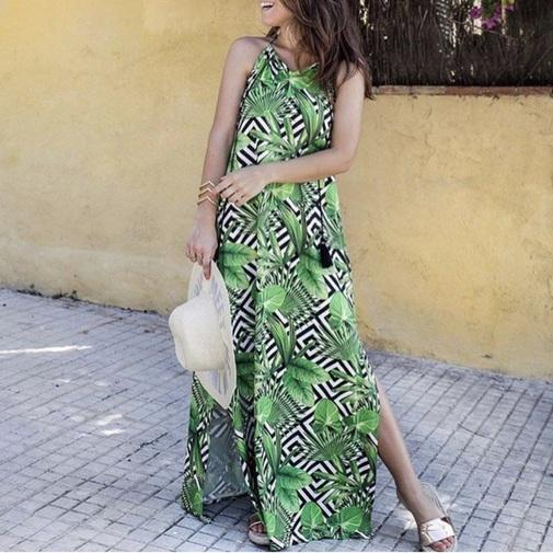 Trendy Boutique - VESTIDO LARGO PALM