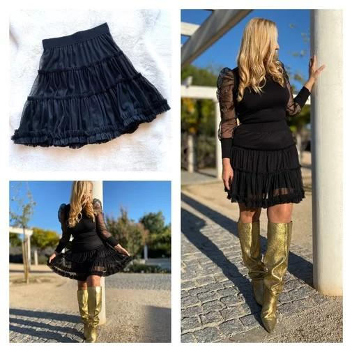 Trendy Boutique - FALDA TUL NEGRA