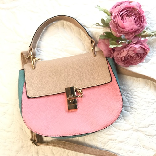 Trendy Boutique - Bolso tricolor