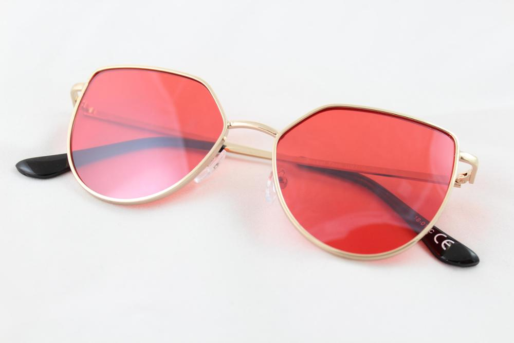 Tudmir - Tudmir Sunglasses HULA Red