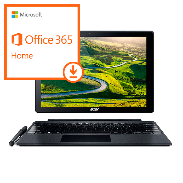 TUCORREOS.ES - Acer Switch Alpha 12 + Windows 10 + Office 365 Home - ESD