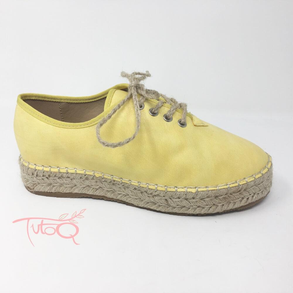 tutoq - Zapatilla yellow esparto