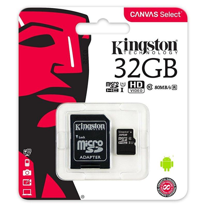 VendemosTuMovil.es - Kingston micro SD XC clase 10 . 16GB / 32GB