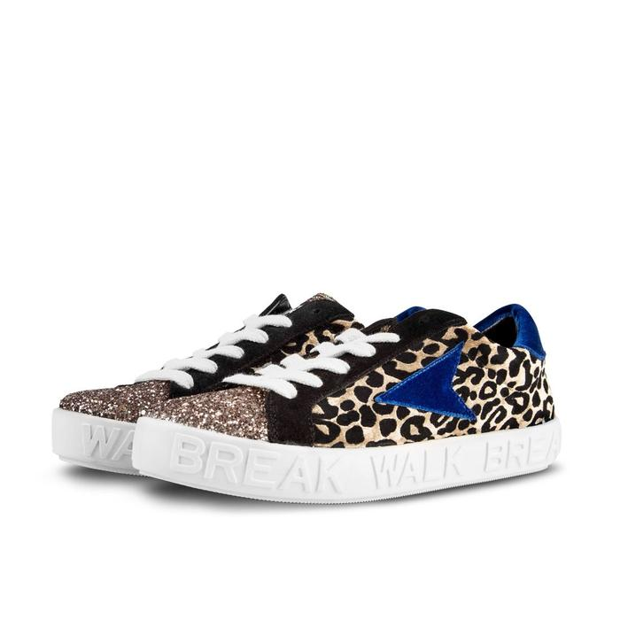 WO&MAN - Break And Walk SNEAKERS RUBY LEOPARDO