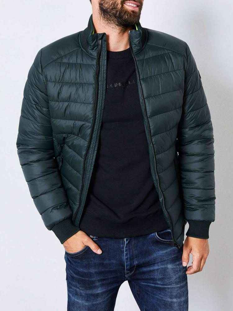 WO&MAN - Petrol Industries Basic Quilted Jacket